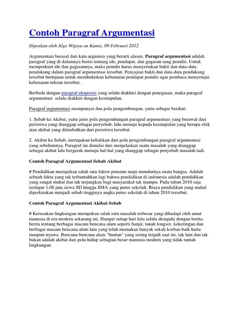 Cara Membuat Esai Argumentatif (dengan Gambar) - wikiHow