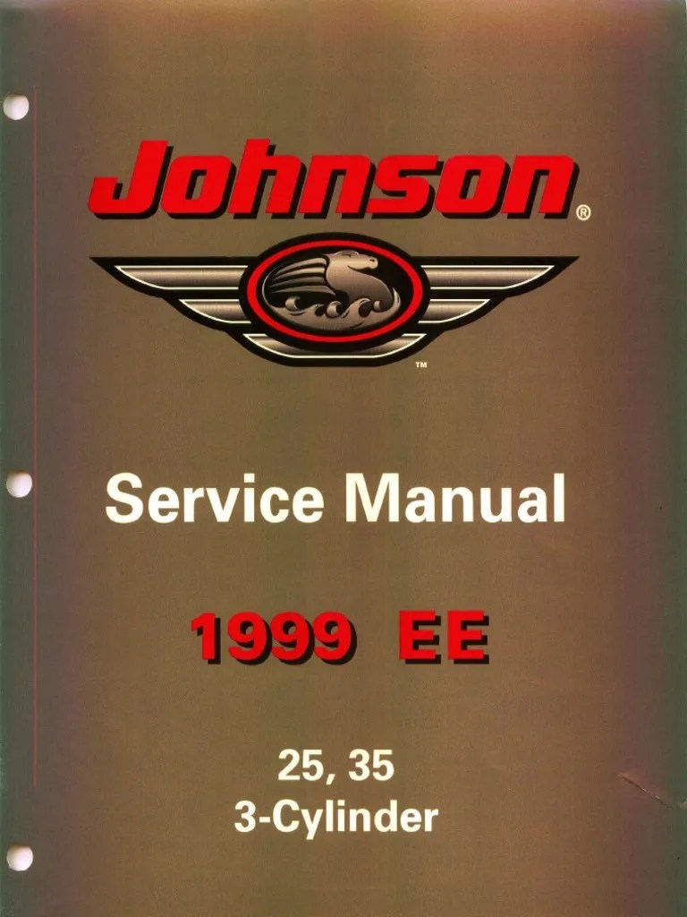 ee johnson 25 35 3 cylinder outboards service manual gasoline ignition system [ 768 x 1024 Pixel ]
