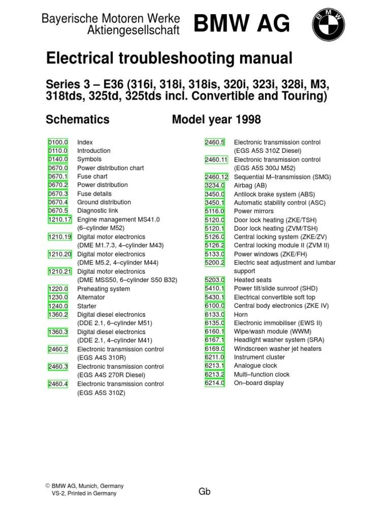 1998 bmw e36 electrical wiring diagram [ 768 x 1024 Pixel ]