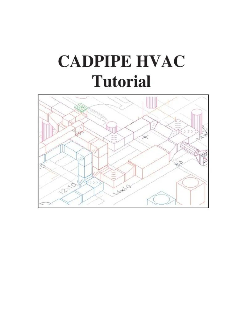 hight resolution of drawing for hvac