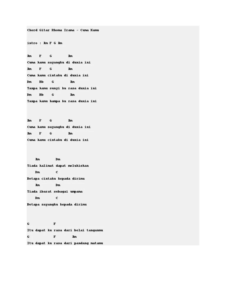 Chord Gitar Dari Matamu : chord, gitar, matamu, Chord, Gitar, Rhoma, Irama