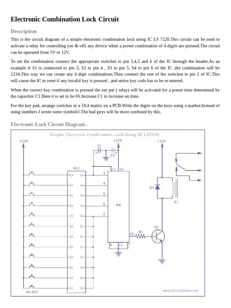 small resolution of combination circuit diagram