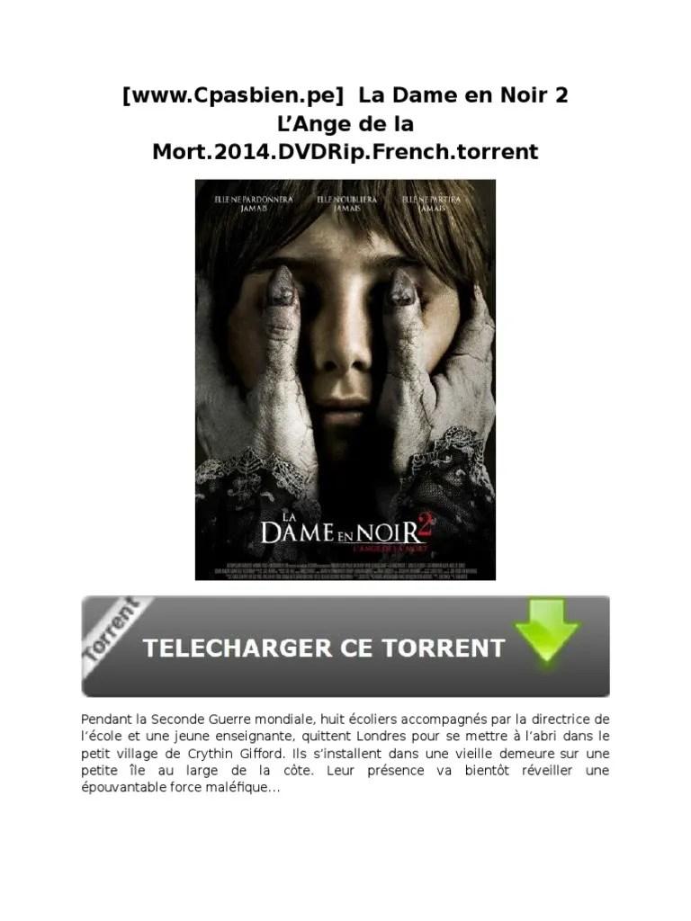 La Dame En Noir Telecharger : telecharger, Www.cpasbien.pe], L'Ange, Mort.2014.DVDRip.french.torrent