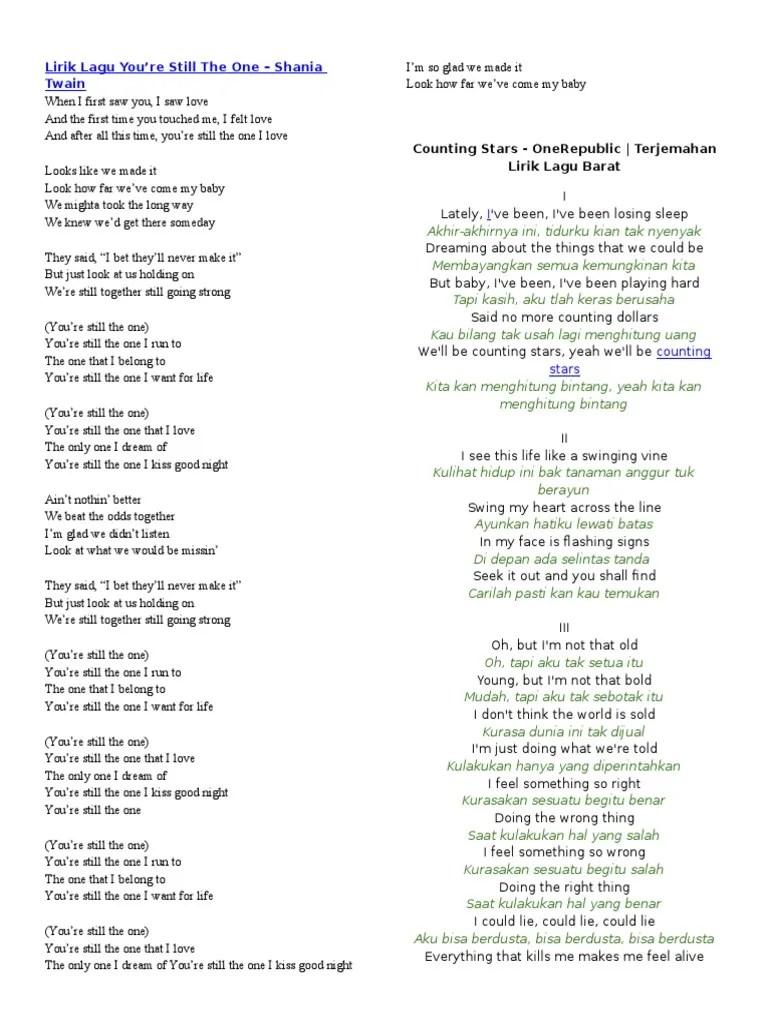 Lirik Terjemahan Before You Go : lirik, terjemahan, before, Lirik, Structure, Songs