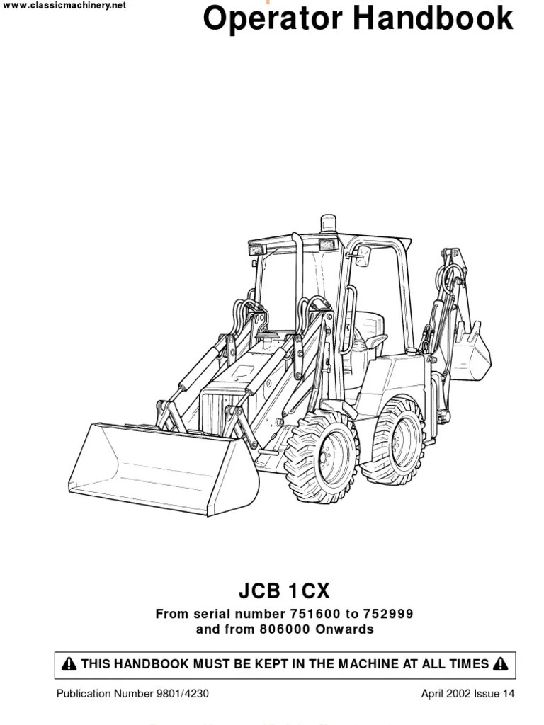 wiring diagram for jcb 215 trusted wiring diagrams jcb 214 online manual jcb 214 loader backhoe [ 768 x 1024 Pixel ]