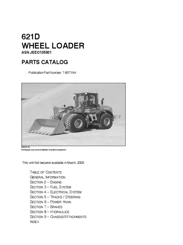 medium resolution of 621d wheel loader parts 7 8571 cd transmission mechanics loader equipment