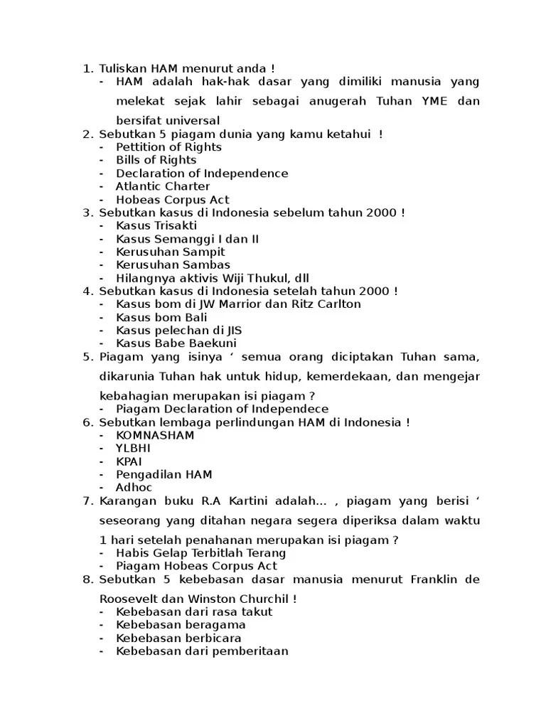 Sebutkan 4 Lembaga Perlindungan Ham Di Indonesia : sebutkan, lembaga, perlindungan, indonesia