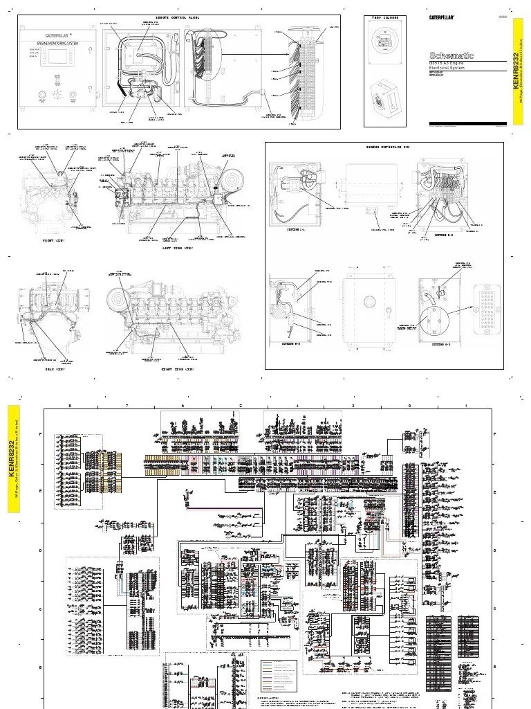 hight resolution of cat 3516 amplifier electrical connector 3516 caterpillar wiring diagrams