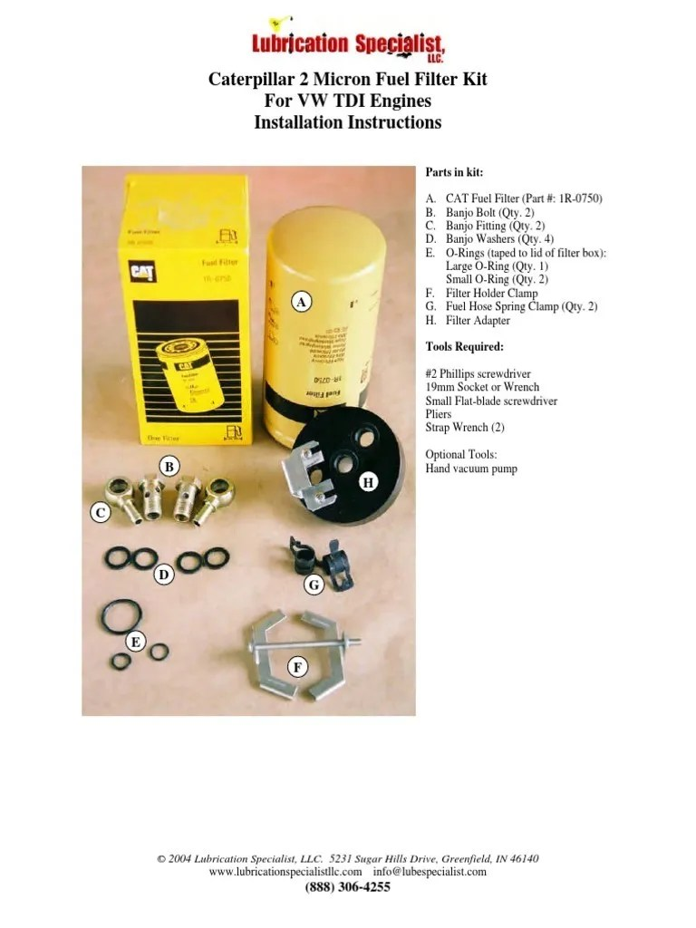 hight resolution of small 1 4 fuel filter