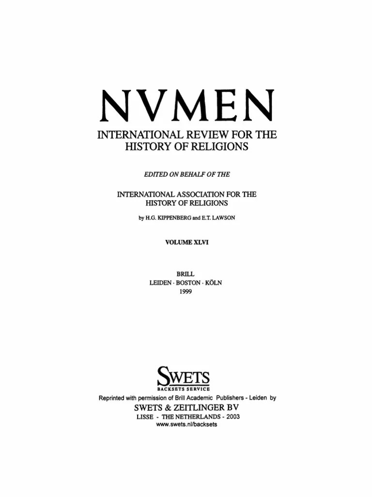 Nvmen Vol 46 Hymns Tertullian