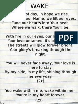 Lirik Lagu Firmanmu Tuhan : lirik, firmanmu, tuhan, Lirik, Lord's, Prayer, Jesus