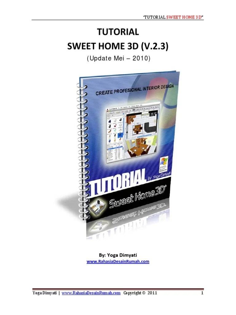 File > preferences > language > + 3. Tutorial Sweet Home 3d Pdf Pdf