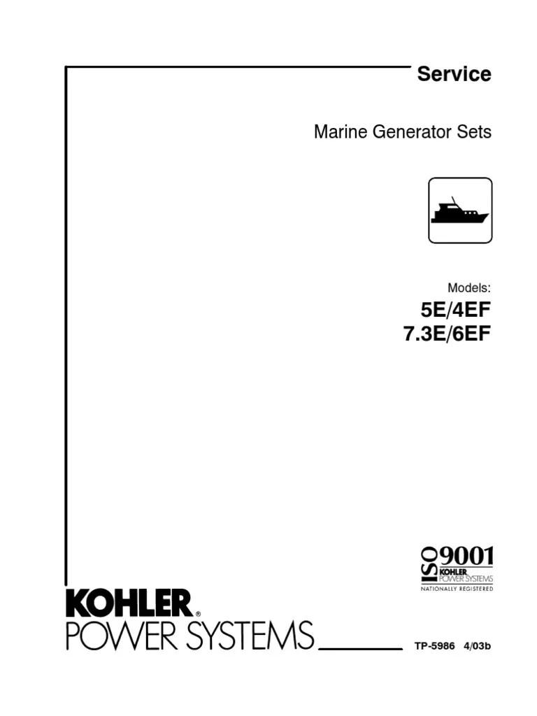 medium resolution of kohler 5e marine engine wiring harness diagram