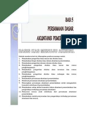 Tuliskan Persamaan Dasar Akuntansi : tuliskan, persamaan, dasar, akuntansi, Persamaan, Dasar, Akuntansi, Pemerintaha
