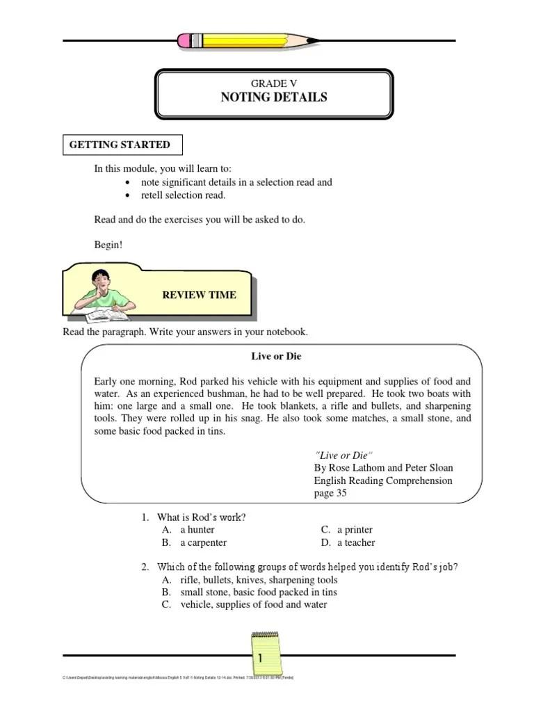 medium resolution of 1-Noting Details 12-14.pdf   Scarecrow (Oz)   Dorothy Gale