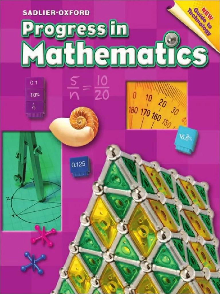 hight resolution of Progress in Mathematics Grade 6   Fraction (Mathematics)   Area