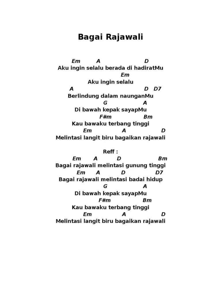Chord Bagai Rajawali : chord, bagai, rajawali, Bagai, Rajawali, Sedang