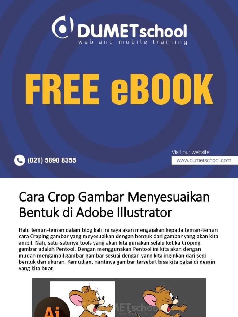 Cara Crop Gambar Di Adobe Illustrator : gambar, adobe, illustrator, Kursus, Illustrator, Gambar, Menyesuaikan, Bentuk, Adobe