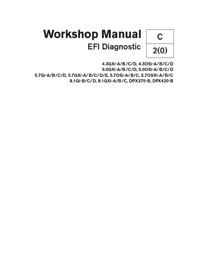 volvo penta workshop manual efi diagnostic electrical connector gasoline [ 768 x 1024 Pixel ]