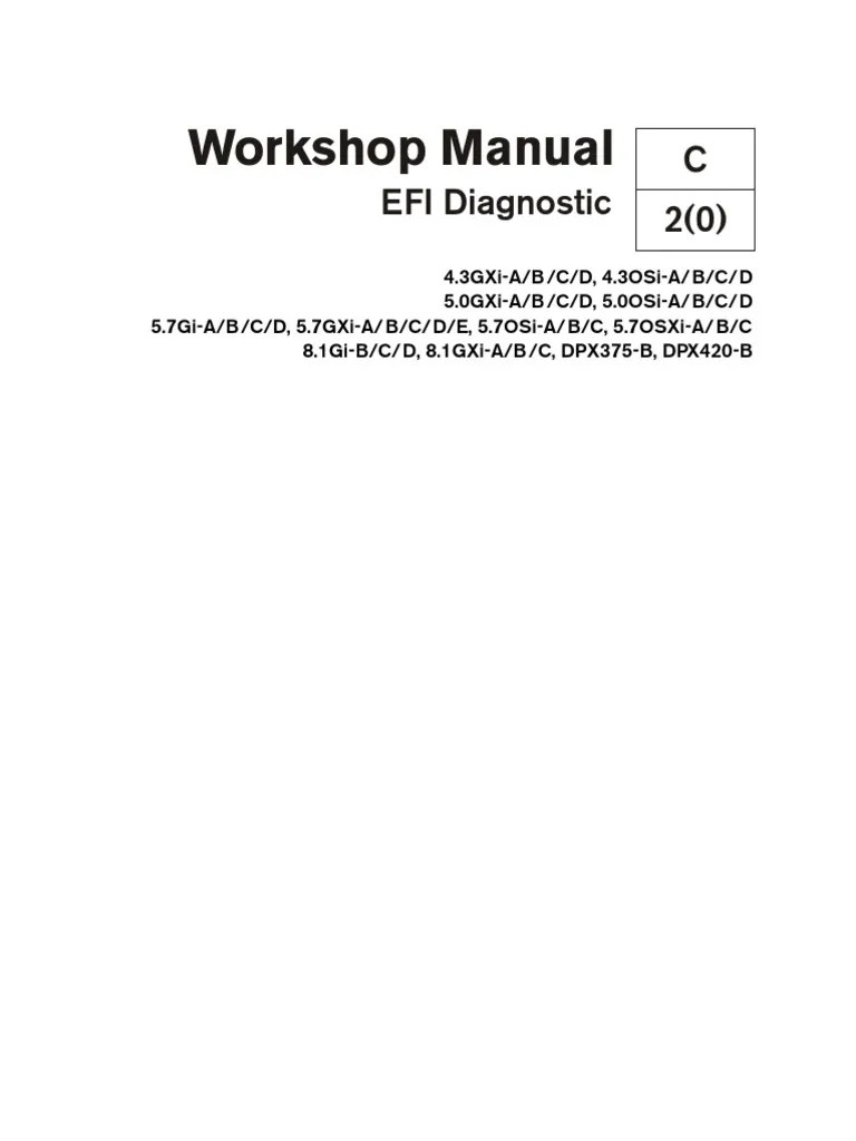 small resolution of volvo penta workshop manual efi diagnostic electrical connector gasoline