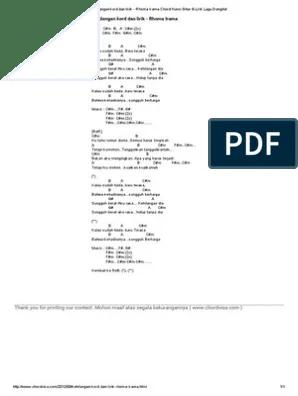 Chord Lagu Firman Kehilangan : chord, firman, kehilangan, Kunci, Kehilangan, Rhoma, Irama, Python