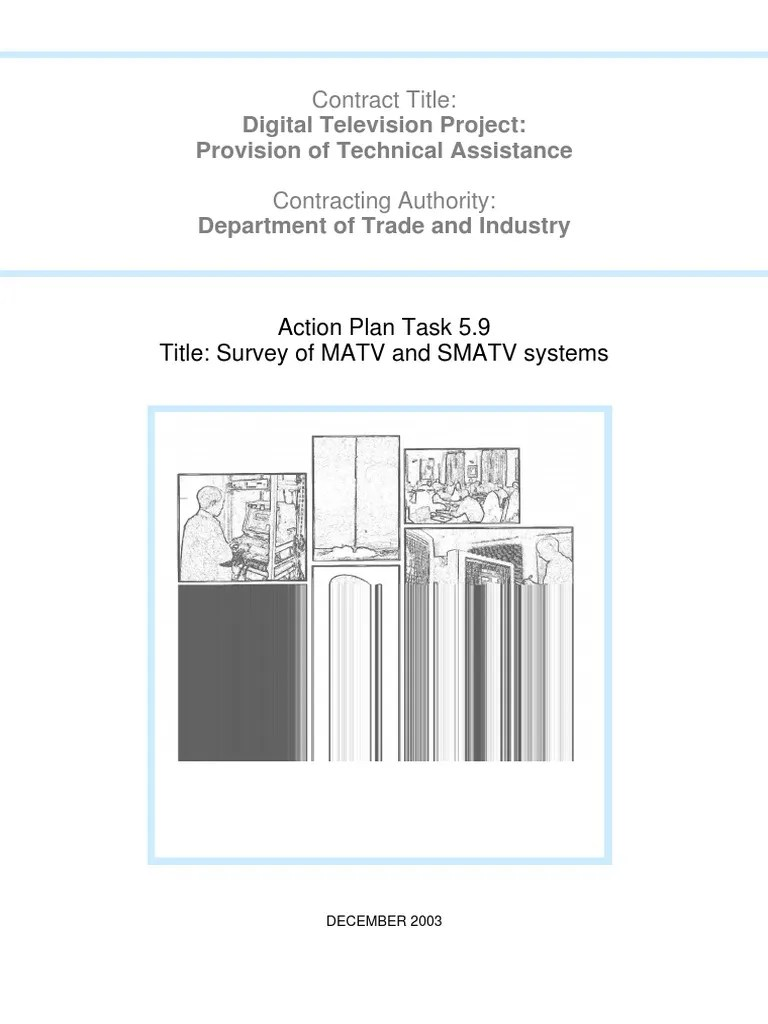 project management matv smatv project satellite television amplifier on antenna diagram wire diagram  [ 768 x 1024 Pixel ]