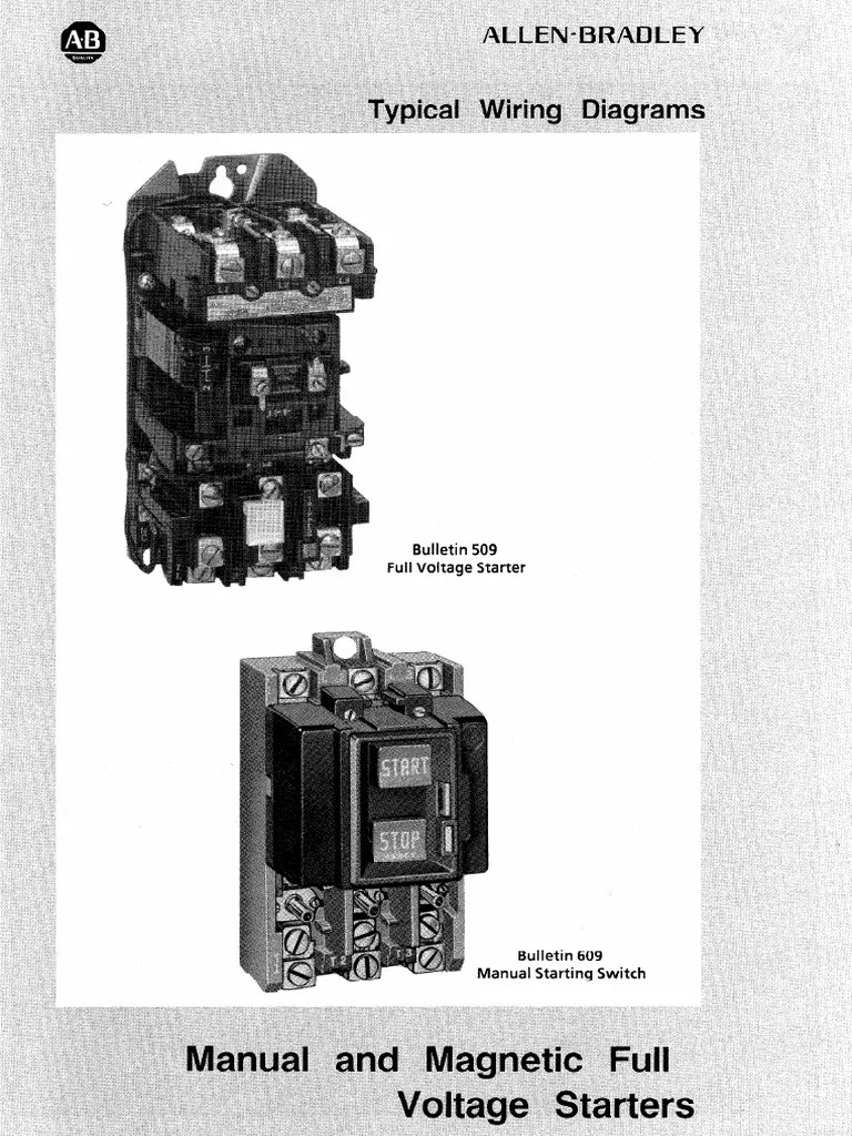 medium resolution of ab starter diagram relay 83 views 509 motor starter wiring diagram 9