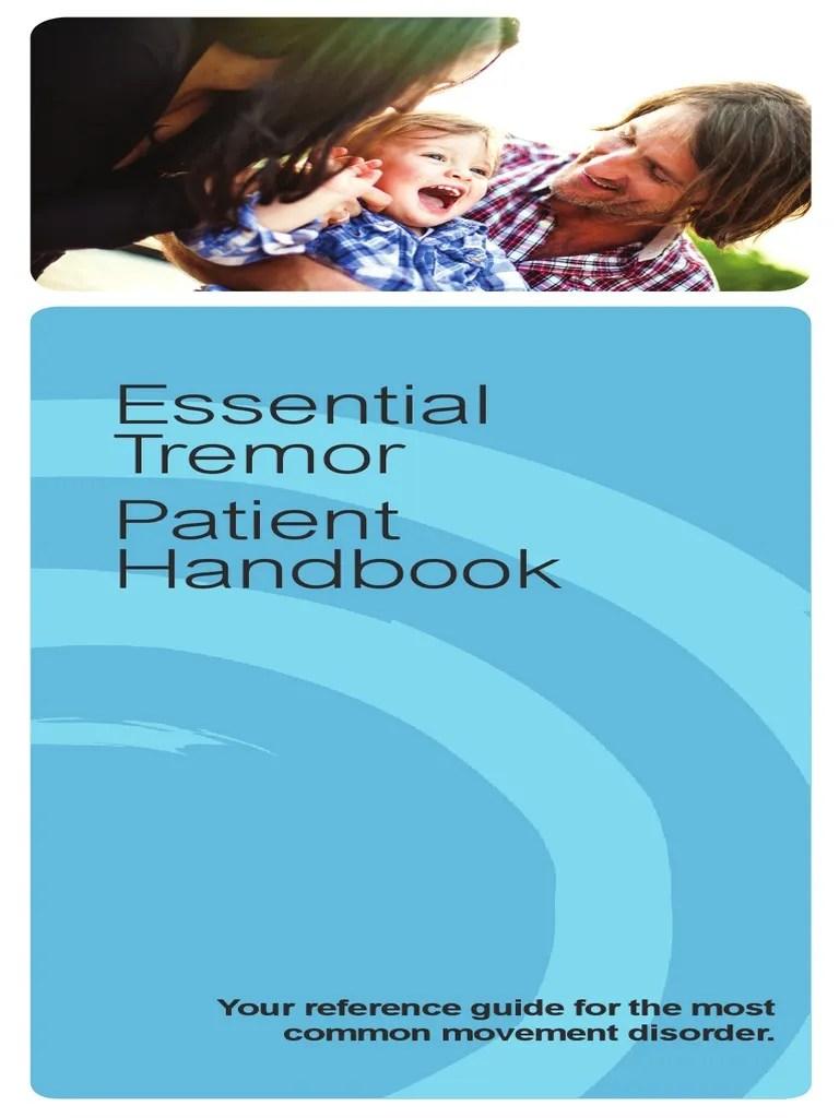 Patient Handbook - Essential Tremor (02142013 ...