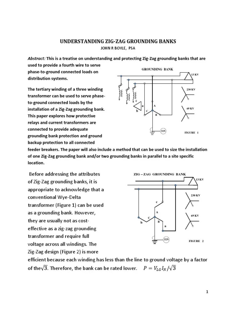 hight resolution of georgia tech zig zag grounding transformers physical quantities components