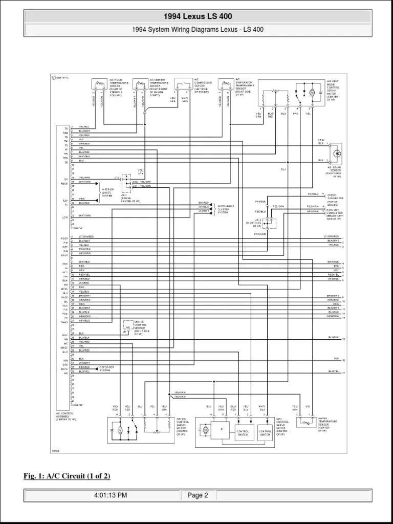 small resolution of ls400 1994 wiring lexus 716 views 1994 lexus ls400 radio wiring diagram 94 lexus ls400 wiring diagram