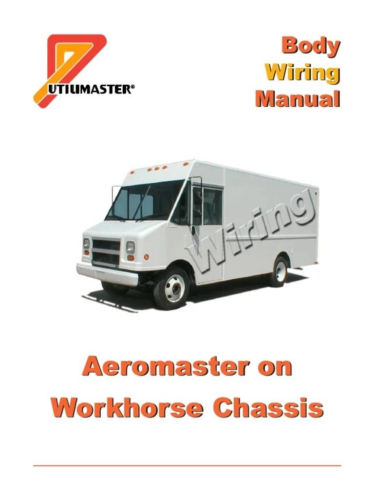 medium resolution of workhorse aeromaster wiring national highway traffic safety administration vehicles
