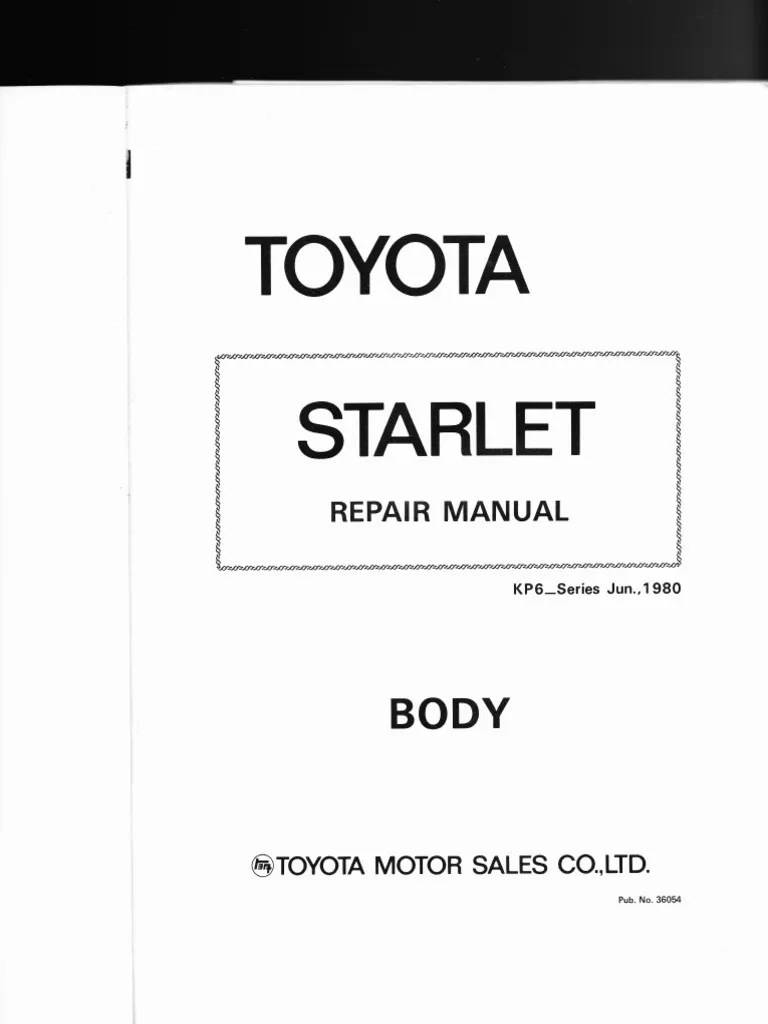 toyota starlet kp6 series body style wiring diagrams air conditioning automotive technologies [ 768 x 1024 Pixel ]