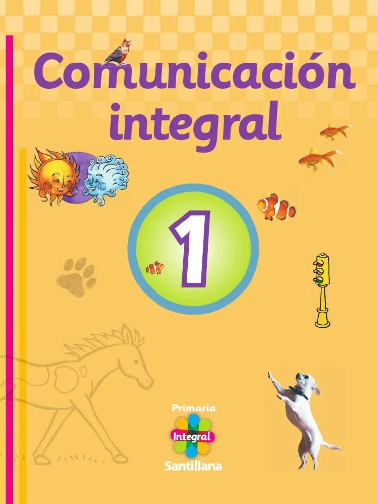 Comunicacion Integral 1 | Libros | Publicación