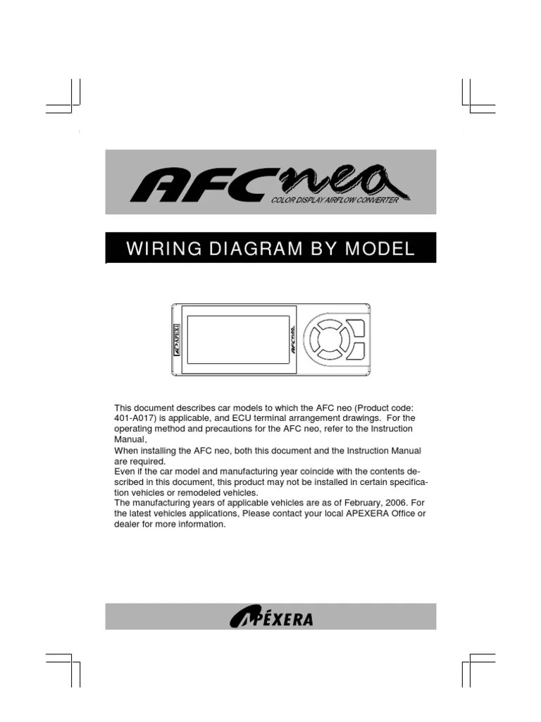 hight resolution of afc neo wiring diagram 4g93 apexi afc neo wiringrh scribd com design