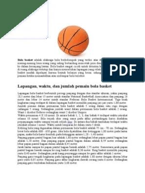 Berapa Pemain Bola Basket : berapa, pemain, basket, BASKET.docx