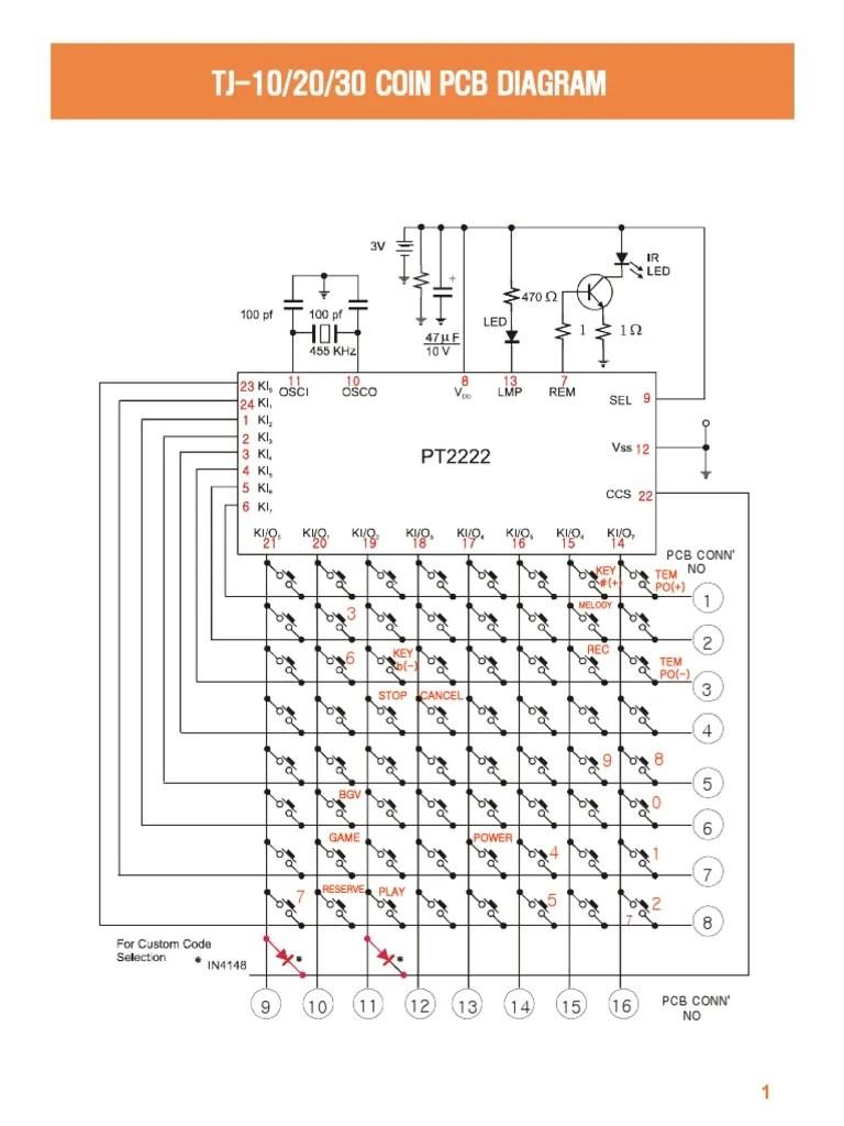 small resolution of platinum remote pcb diagram wiring diagram videoke machine