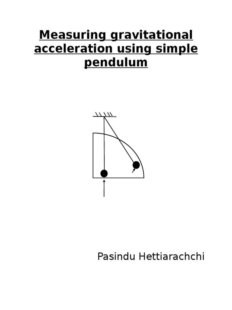 pendulum experiment diagram [ 768 x 1024 Pixel ]