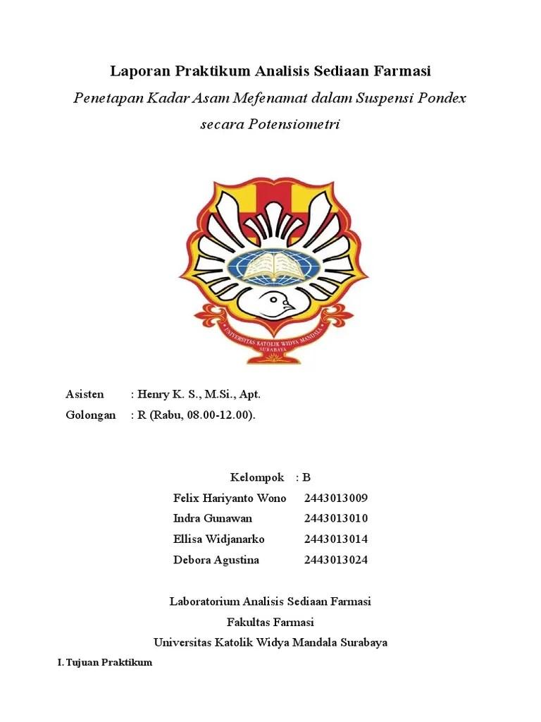 Laporan Praktikum Potensiometri : laporan, praktikum, potensiometri, Ansed, Potensio