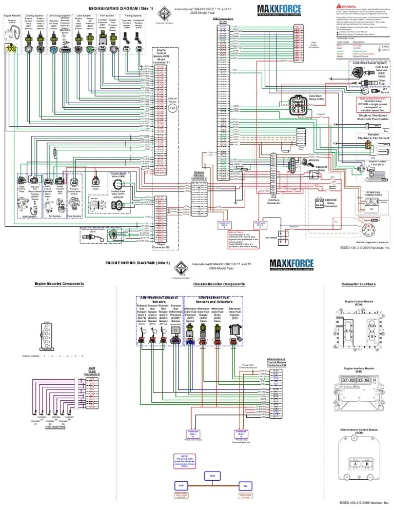Maxxforce 13 Engine Diagram : maxxforce, engine, diagram, Maxxforce, Propulsion, Systems, Engineering