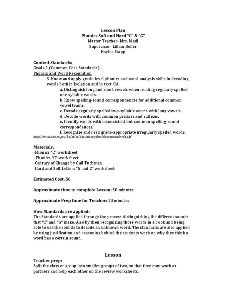 lesson plan-educ 383   Phonics   Semiotics [ 1024 x 768 Pixel ]