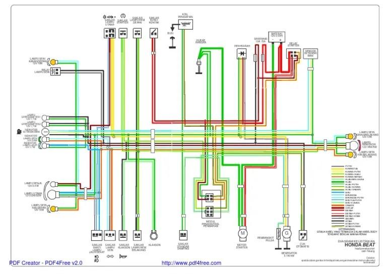 Wiring Diagram Ecu Beat Fi