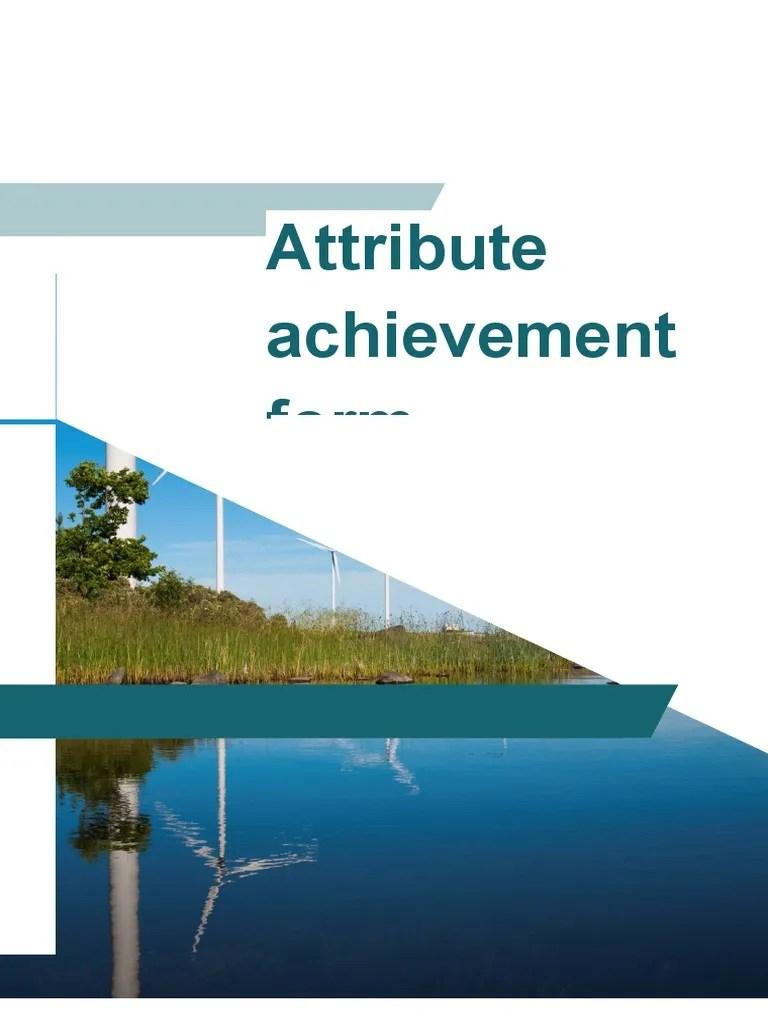also attribute achievement form engineer engineering rh scribd