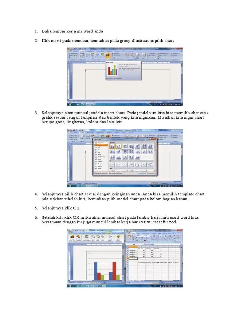 Cara Membuat Grafik Di Microsoft Excel : membuat, grafik, microsoft, excel, Membuat, Grafik