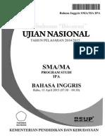 Soal Un Bahasa Inggris Sma Dan Kunci Jawaban 2015 : bahasa, inggris, kunci, jawaban, Pembahasan, Bocoran, Bahasa, Inggris, Pak-Anang.blogspot.com