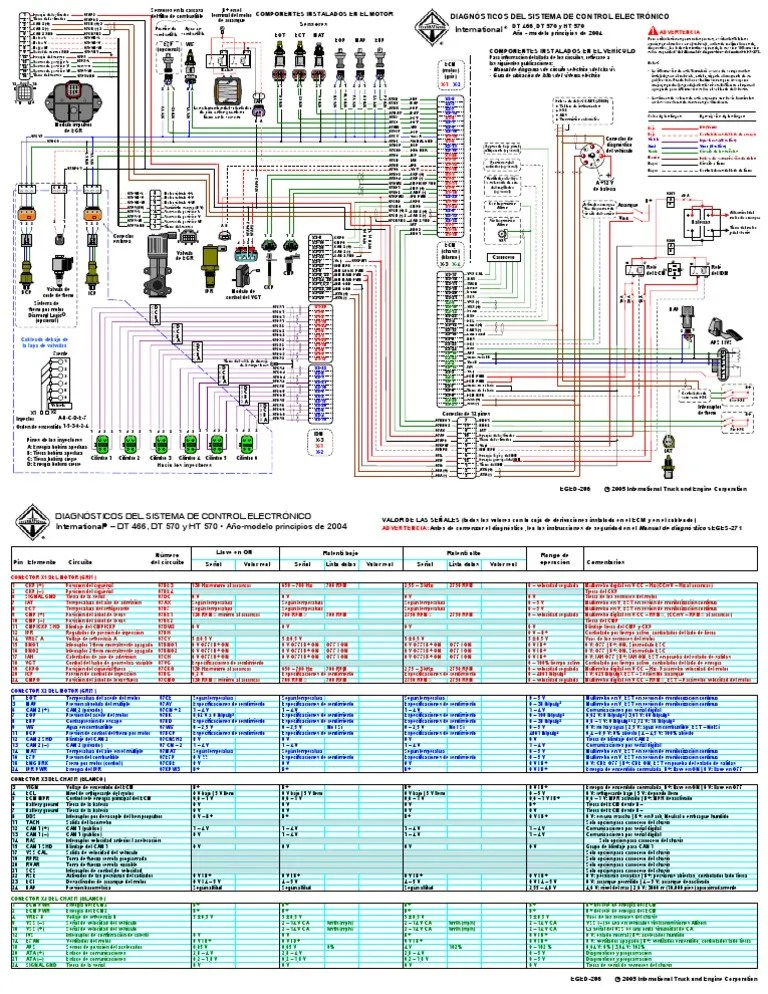 international 4300 wiring diagram dimarzio ultra jazz diagrams diagrama electrico navistar 466 y 570