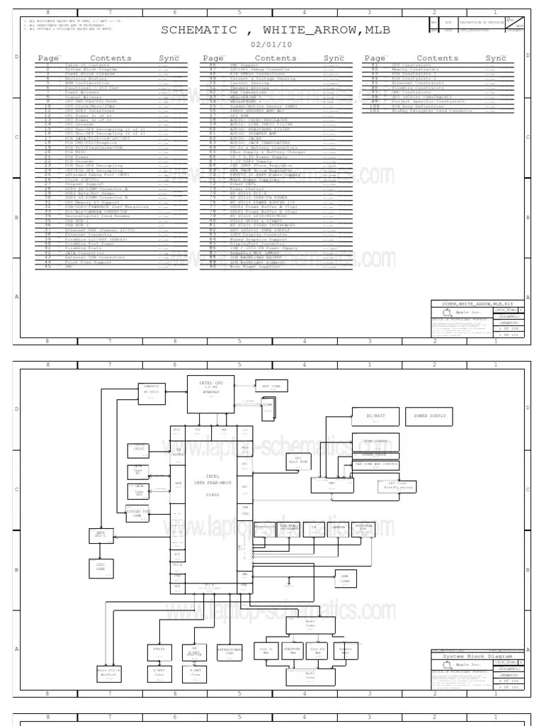 Macbook Pro 2009 Diagram