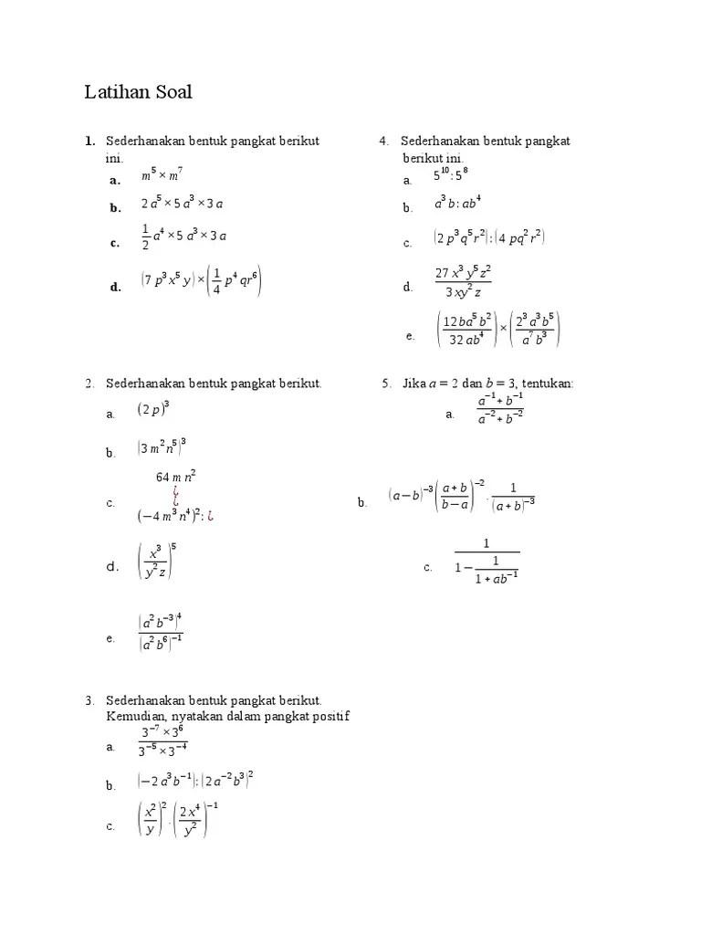 Bentuk Eksponen dengan Pangkat Pecahan - Materi Lengkap...