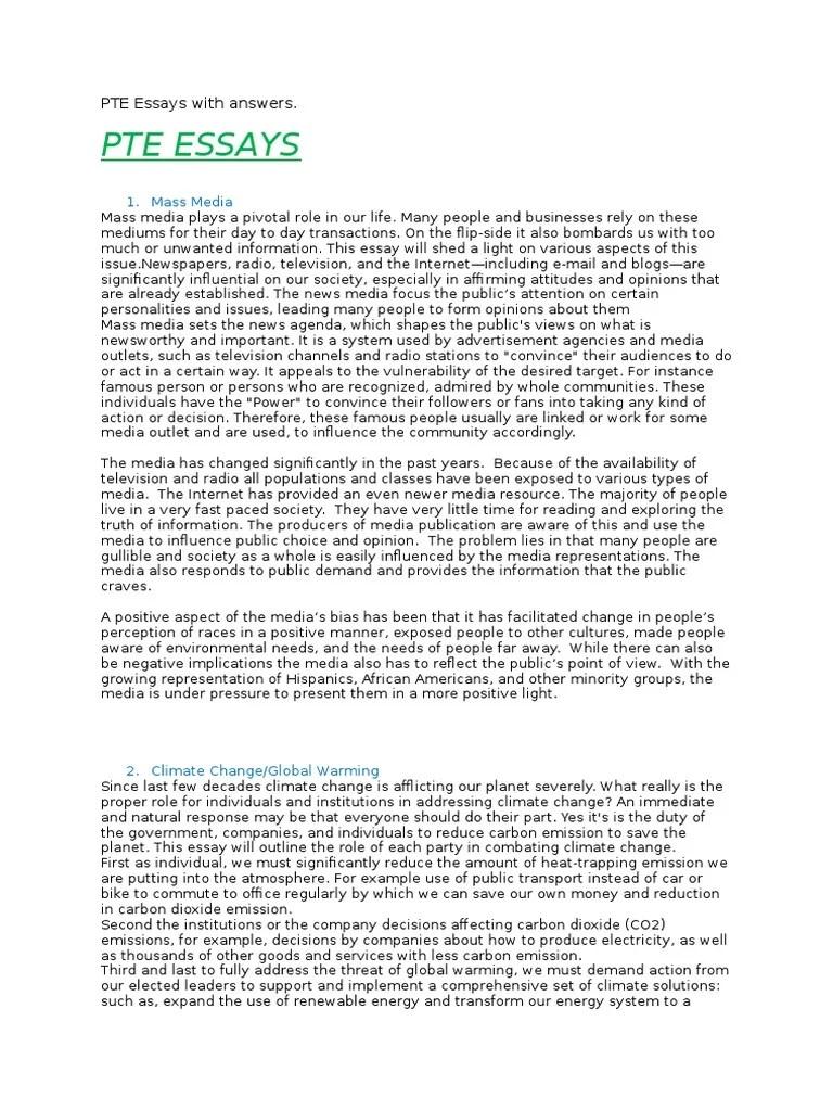 Renewable Energy Essay Pte Essays Answers Argumentative Sample