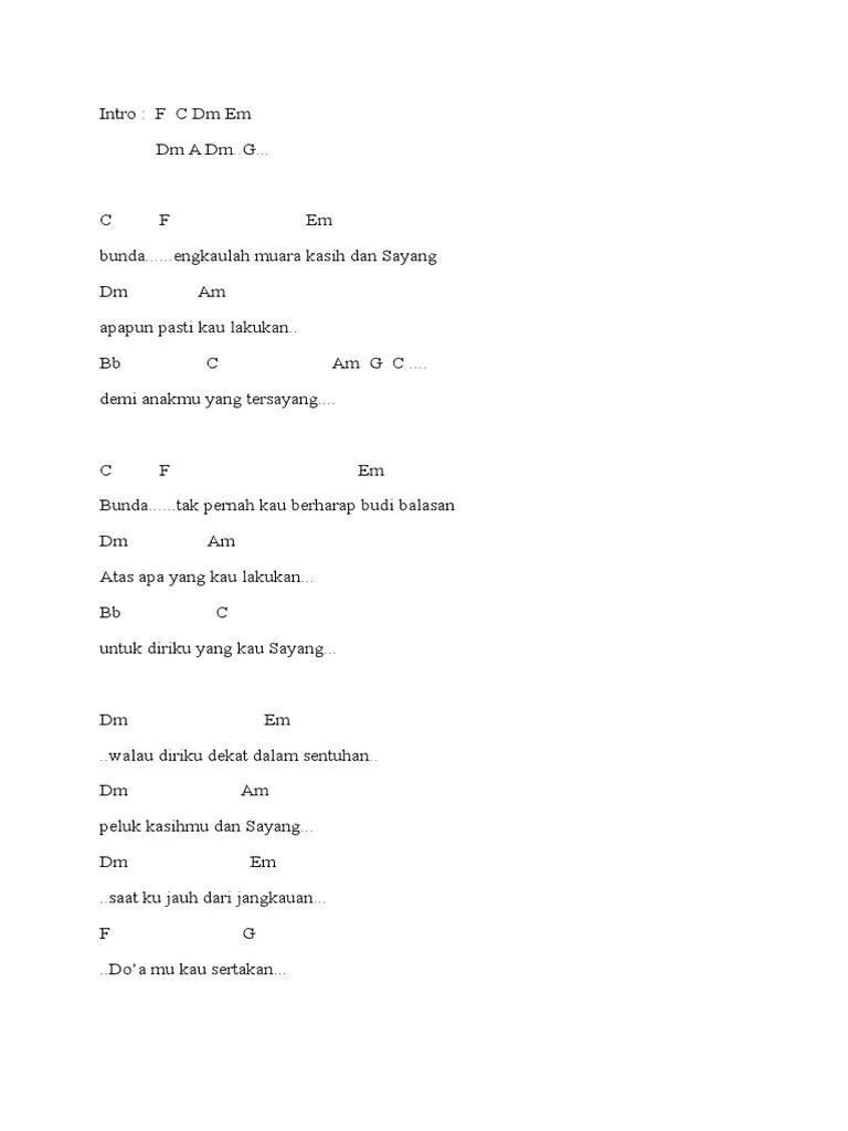 Kunci Lagu Muara Kasih Bunda : kunci, muara, kasih, bunda, Chord, Muara, Kasih, Bunda, Suzan