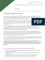 Membuat Cetak Print Laporan Dengan PHP - Malas Ngoding